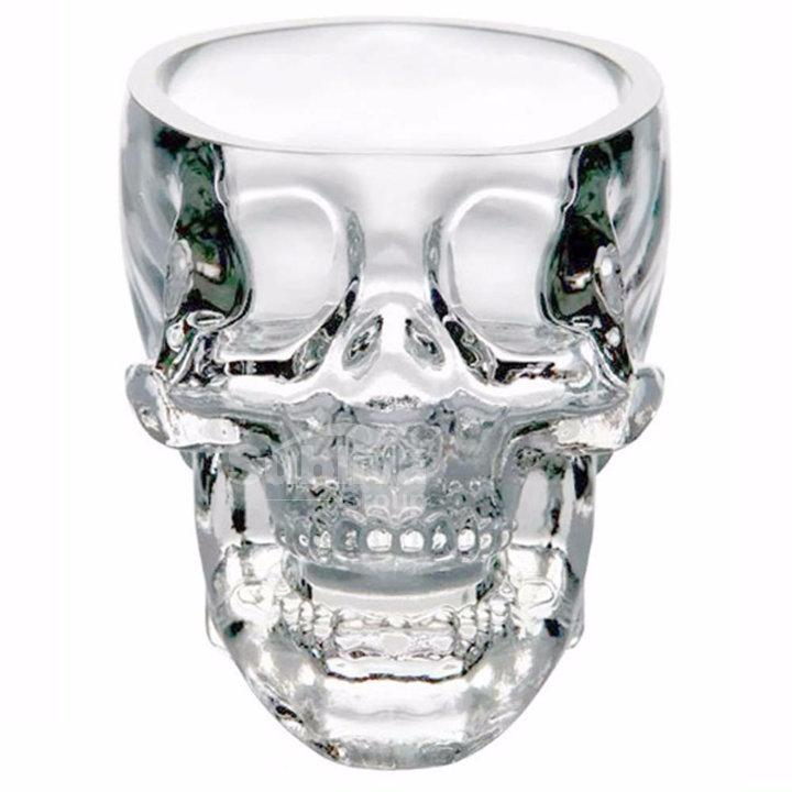 Skull Shaped Coffee Glass